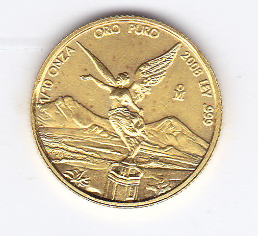 Mexico - 1/10 ounce 2008 - Goud
