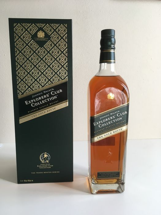 Johnnie Walker Explorer's Club Collection - The Gold Route - 1,0 Liter