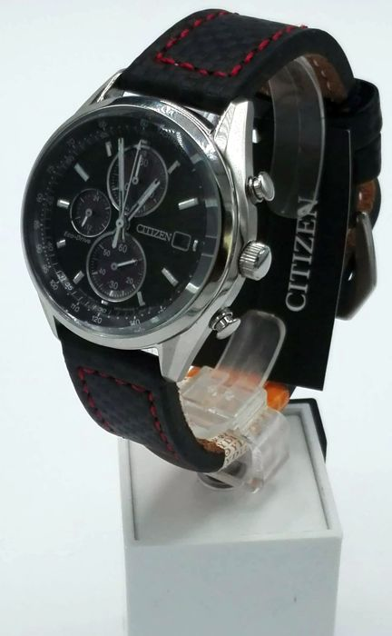 Citizen - Cronografo Aviator Eco Drive - NUOVO - Men - 2019