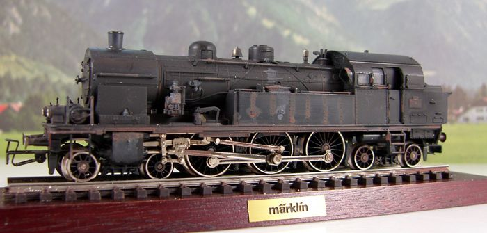 Märklin H0 - 3117 - Tender locomotive - BR 232 TC 'patiniert'. - SNCF