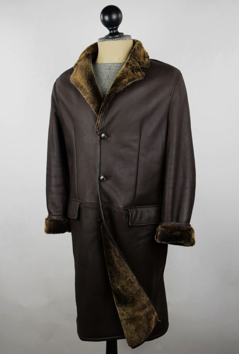 Hugo Boss - Cappotto di pelle - Catawiki 917e8684a2f
