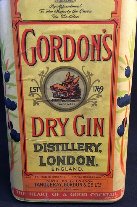Gordon's XXL BOTTLE - Fles - Glas
