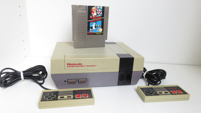 1 Nintendo Nes - Console with games (1) - Without original box
