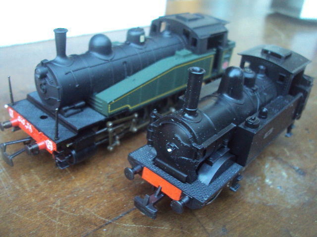 Jouef H0 - 8292/8295 - Steam locomotive - Series 30.135 and 040.TA - SNCF