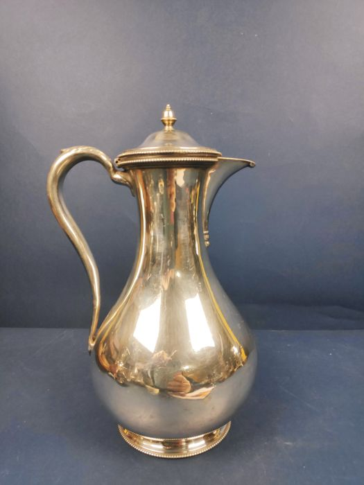 Teapot - Silverplate - Mh&Co - U.K. - Early 20th century