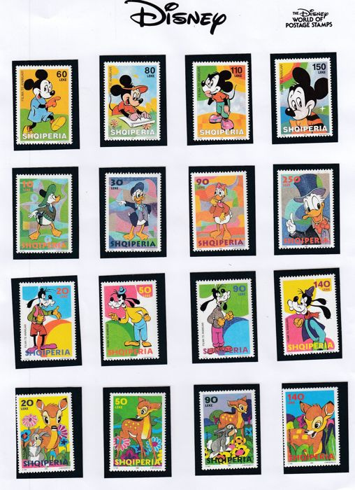 World - Topical stamps Disney