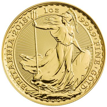 United Kingdom - 100 Pounds 2018 Britannia - 1 oz - Gold