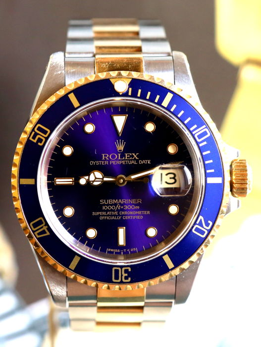 Rolex - Submariner Date  16613 - Heren - 1990-1999