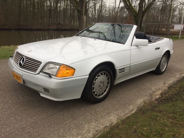 Mercedes-Benz - sl 500 - 1992
