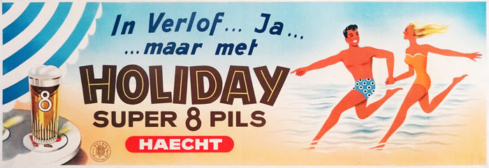 Anonymous - Holiday Super 8 Pils van Haecht  - Década de 1960
