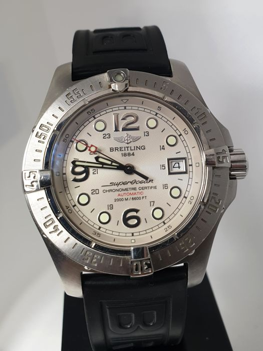 reputable site 78a27 040dc Breitling - Superocean Steelfish Automatic - A17390 - Men - 2000-2010 -  Catawiki