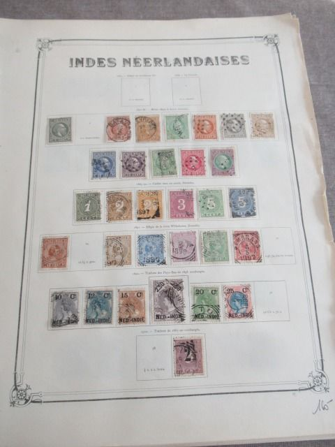 Dutch and Portuguese Indies - Advanced collection of stamps
