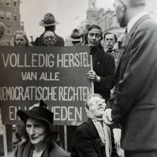 Emmy Andriesse (1914-1953)  - 'Restore democratic rights' protest, 1946