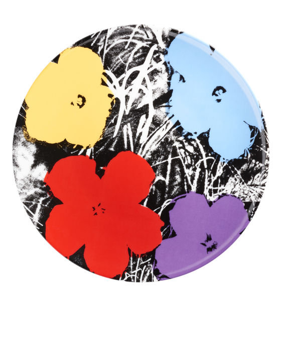 Andy Warhol - Flowers on White