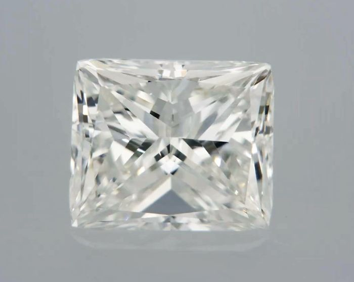 1 pcs Diamant - 1.00 ct - Radiant - H - IF (intern zuiver)