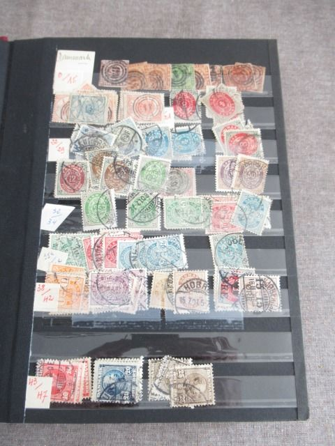 Denmark - Advanced collection of stamps
