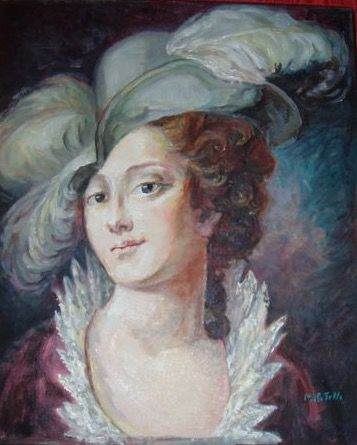 Seguace di Rosalba Carriera (firmato Malatesta) - Ritratto di Caterina Sagredo Barbarico