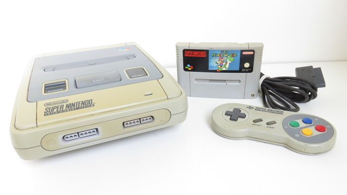 1 Nintendo Snes - Console with games (1) - Without original box