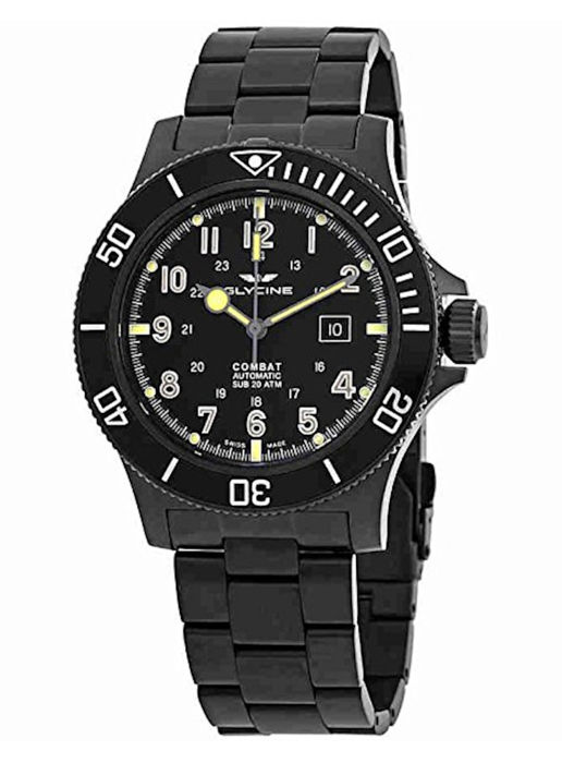 Glycine - Airman Combat Sub Datum Automatik - 3951.959AT.N1.MB9 - Men - 2011-present