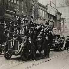 Unknown/Wide World Photo - New York City & Paris Celebrate End of WWI, 1918