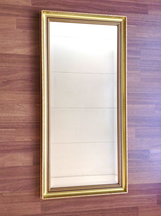 b6da0314c55 Wall mirror - Wood Gold plated - Catawiki