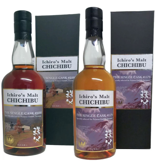 Chichibu limited edition for Germany - 0.7 Ltr - 2 bottles
