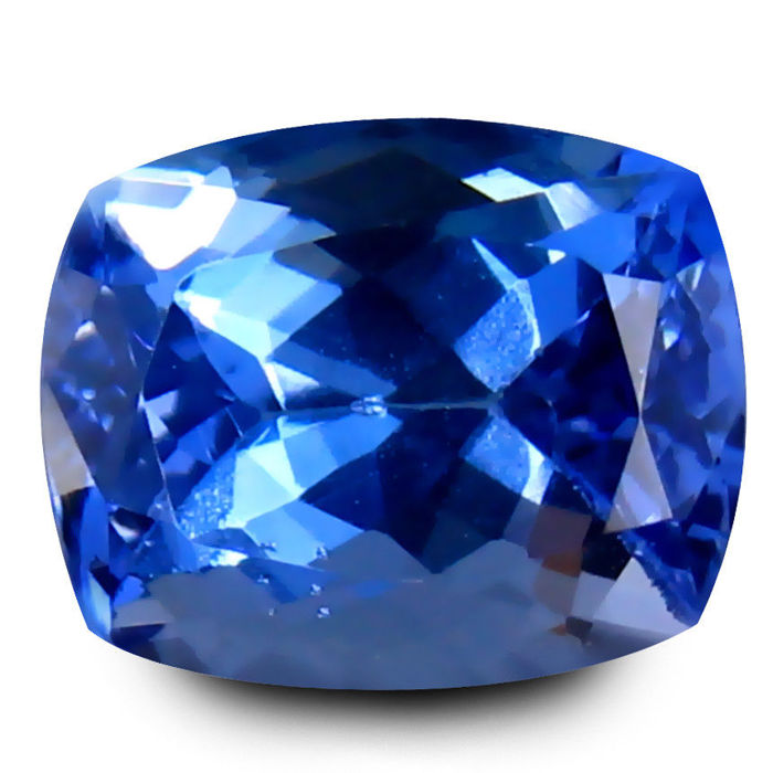 Violetish-blue Tanzaniet - 2.80 ct