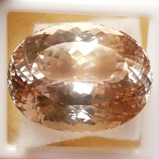 Peach Spodumene - 84.30 ct