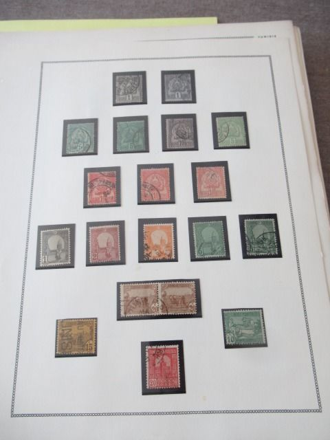 Tunisia 1900/1969 - Advanced stamp collection including blocks