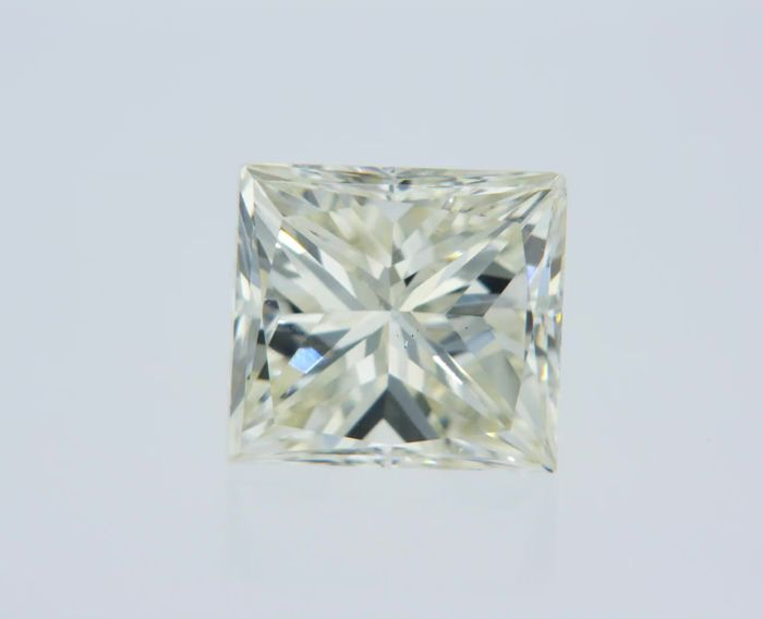 1 pcs Diamant - 1.00 ct - Prinses - I - VVS2