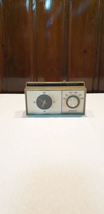 onbekend - onbekend - Heating thermostat Old (1) - Silver, unknown
