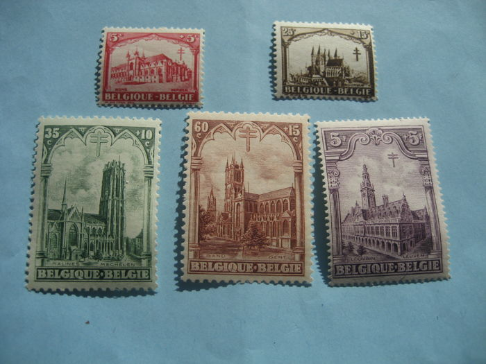 België 1928/1958 - Selection of stamps