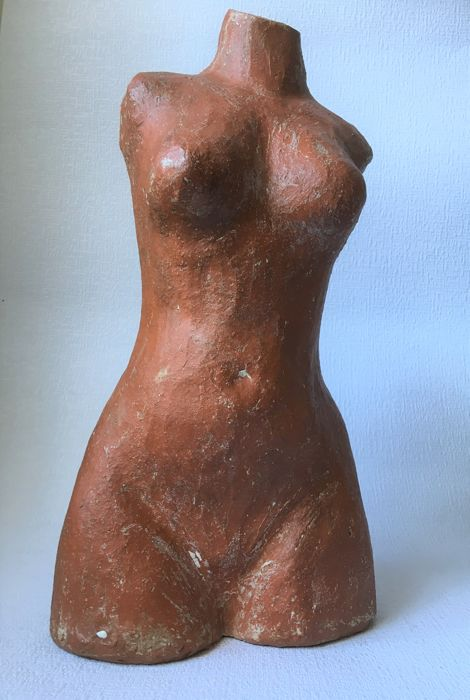 Heavy image torso woman (1) - Clay