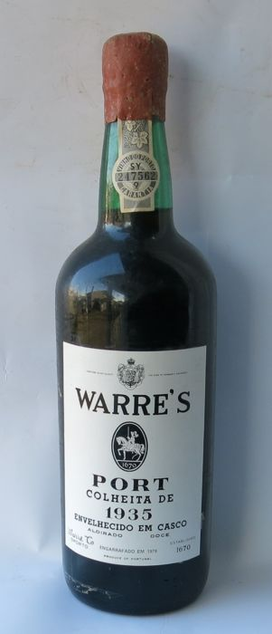 1935 Warre's Colheita Port - 1 Bottle (0.75L)