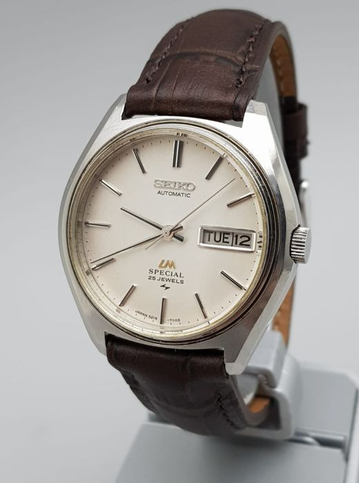 Seiko - 'NO RESERVE PRICE' Lord Matic SPECIAL Automatic Vintage 1974 Men - 5216-7100 - Men - 1970-1979