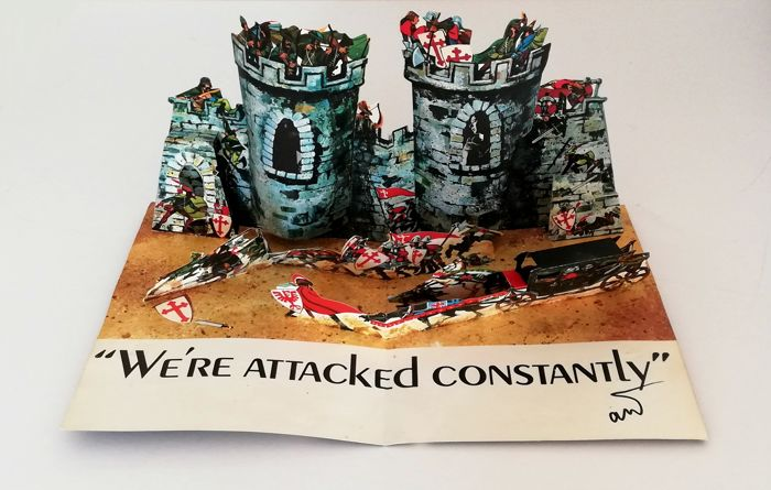 Andy Warhol - We're Attacked Constantly