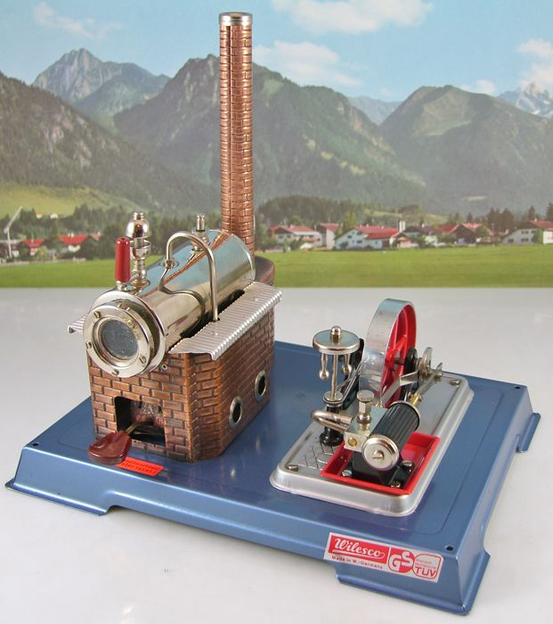 Toys, Hobbies Steam Powered Wilesco M 55 Small Transmission Brand New