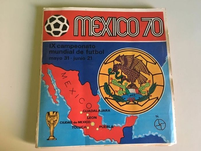 Panini - World Cup Football - Incomplete album Mexico 70 - 1970