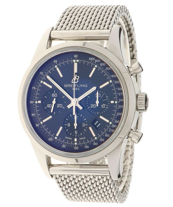 Breitling - Transocean - Chronograph - AB0152 - Heren - 2011-heden