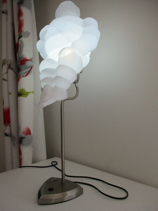Lamp - strong LED - 77cm - standing - Bibendum MICHELIN  - custom design - in perfect condition - 2009