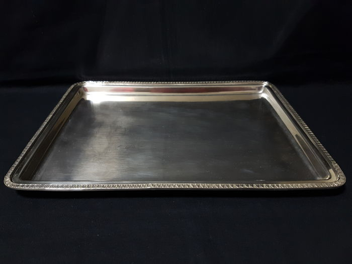 Tray in silver-style IMPERO - .800 silver - Italy - 1950-1999