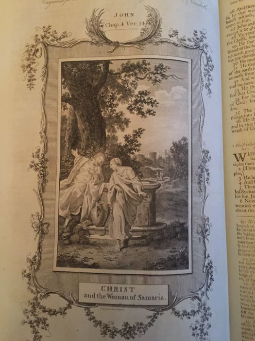 The Holy Bible: containing the sacred text of the Old and New Testaments, and the Apocrypha at large - 1779