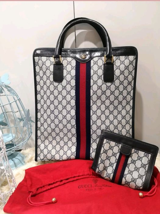 df3ef3cce1d9 Gucci - Ophidia GG Large Tote Bag With Ophidia Make Up Pouch Bag Tote bag