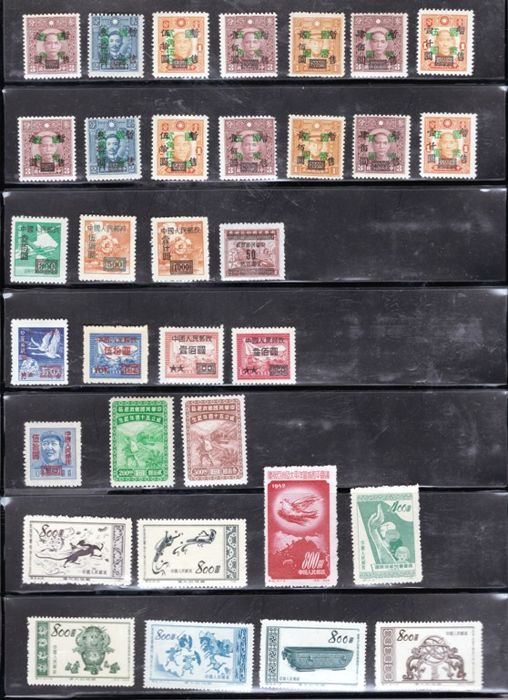 China - Volksrepubliek China sinds 1949 - Group of Stamps & Sets