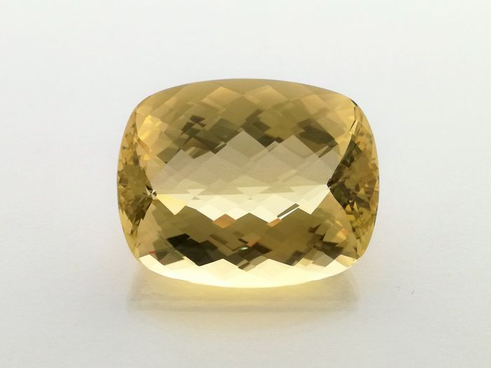 Yellow Citrine - 93.54 ct