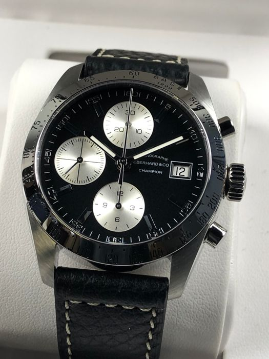Eberhard & Co. - Champion Chronograph Automatic NEW! - 31044 - Homme - 2011-aujourd'hui