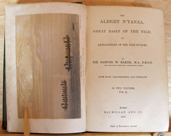 the albert nyanza great basin of the nile and explorations of the nile sources volume 2