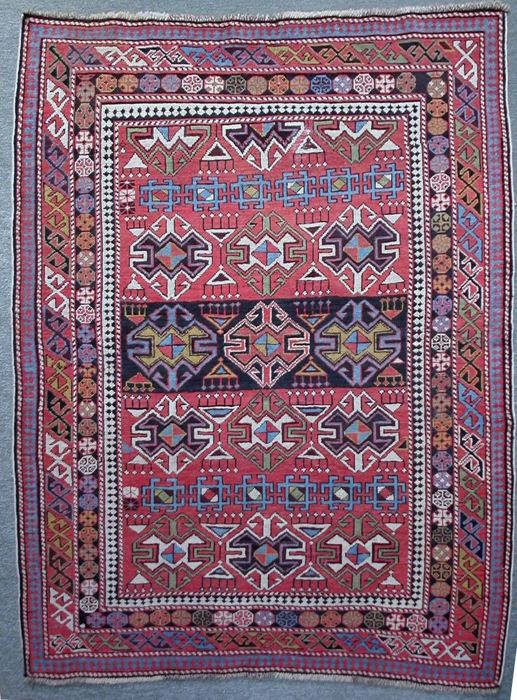 Shirvan antique - Carpet - 140 cm - 110 cm