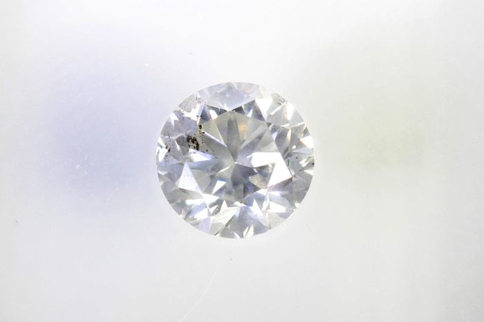 Diamant - 0.50 ct - Briljant - I - SI2