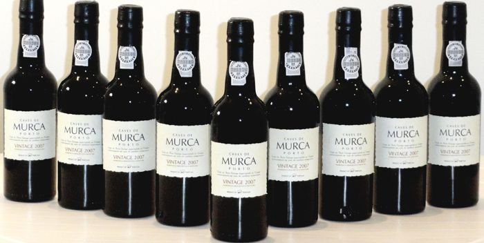 2007 Caves de Murça Vintage Port - 9 Half Bottles (0.375L)